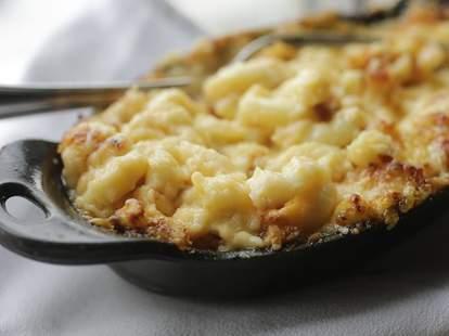 mac and cheese at Cochon Butcher