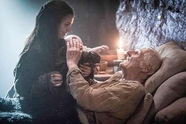 Maester Aemon Targaryen HBO Game of Thrones