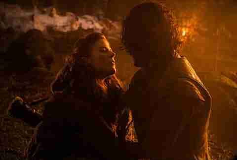 Ygritte and Jon Snow HBO Game of Thrones
