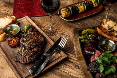 Steak at Lolinda