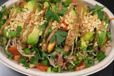 Hang Ten Thai salad
