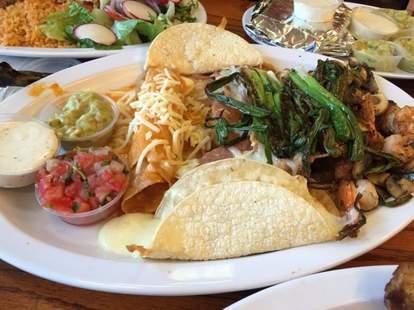 El Toro Taqueria tacos full plate thrillist san francisco