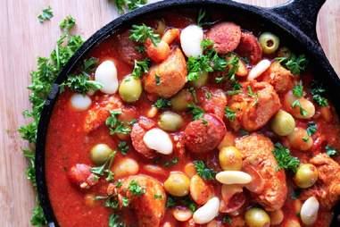 one pot spanish chicken stew