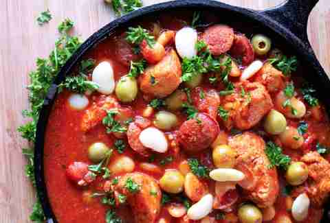 one pot spanish chicken stew