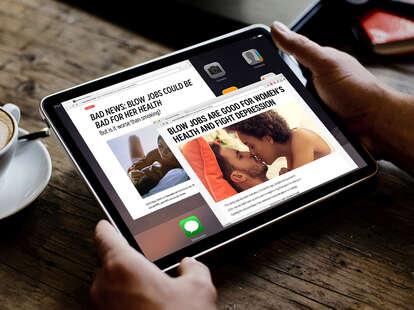 Jennifer Bui Sex & Dating Thrillist iPad graphic