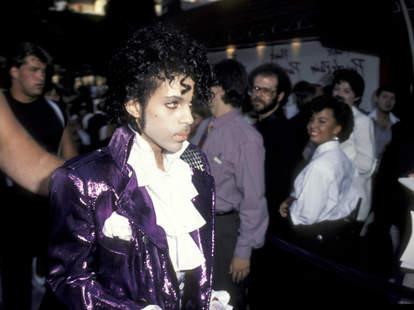 Prince Purple Rain Premiere 1984