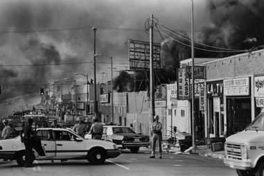 LA Riots 1992 Koreatown Fires