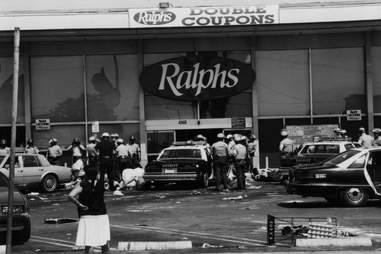 LA Riots 1992 Ralphs Looting