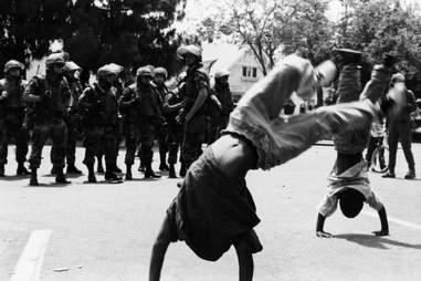 LA Riots 1992 Kids National Guard