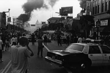 LA Riots 1992 Fires