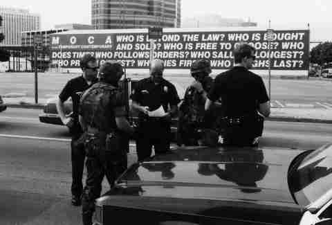 LA Riots 1992 National Guard