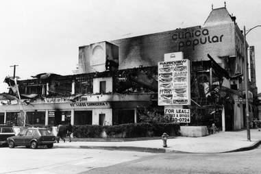 LA Riots 1992 Fires Aftermath