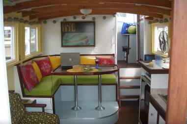 Houseboat in Saugatuck, Airbnb