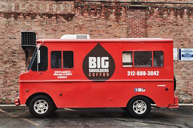 Big Shoulders Coffee food truck chicago