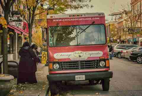 Chicago Cupcake food truck