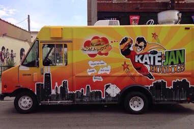 Kate & Jan Hotdogs food truck chicago