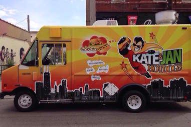 Kate & Jan Hotdogs food truck chicago