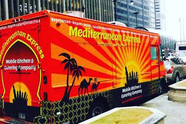 Mediterranean Express food truck chicago