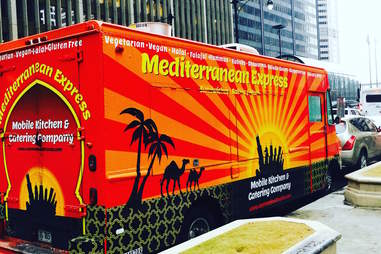 Mediterranean Express food truck chicago