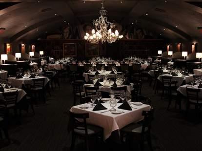 Inside Nick & Sam's Steakhouse