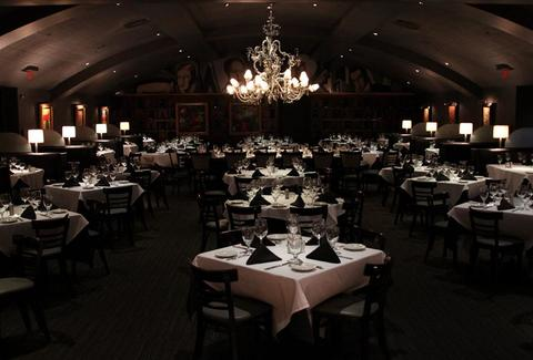 Inside Nick & Sam's Steakhouse