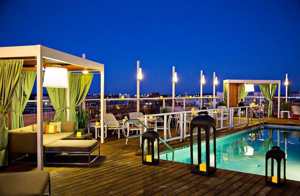 Dnv Rooftop Pool Bar A Washington Dc Dc Bar