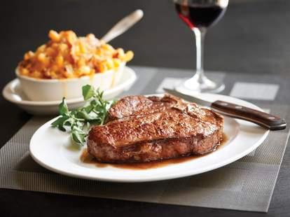 MORTON'S steak mac and cheese wine houston thrillist