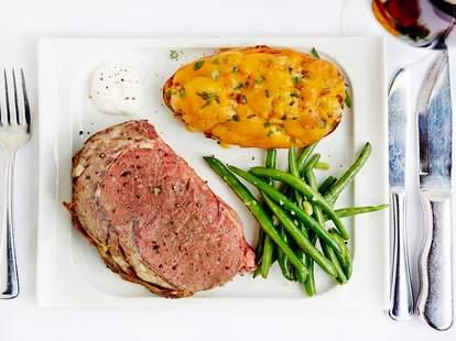 Steak at Al Biernat's