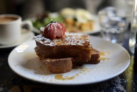 The Rabbit Hole french toast brunch