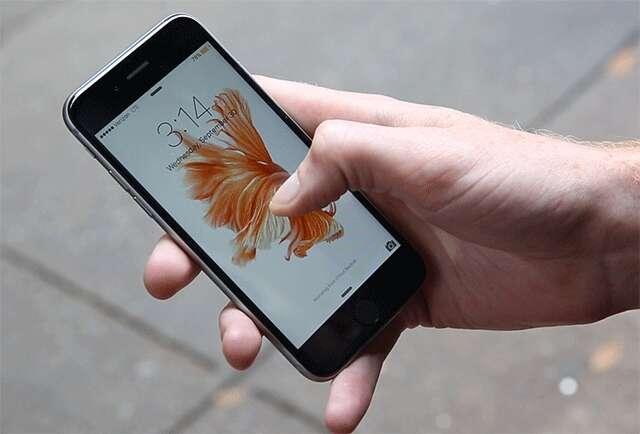 live photos on an iphone 6s
