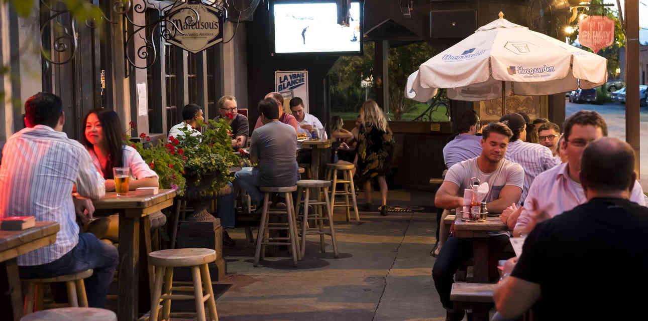 Drinking Neighborhoods in Dallas, Ranked