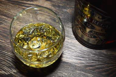 Glass of Chivas Regal