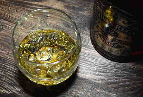 Glass of Chivas Regal
