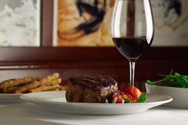 Palm Restaurant, steak