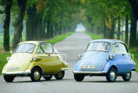 "An electric Isetta screams ""rideshare"" doesn't it?"