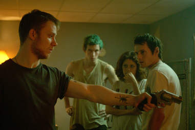 Green Room, Movie, Gun