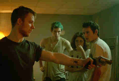 Green Room, Movie, Gun