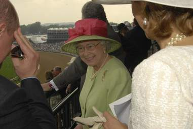 The Queen at Churchill Downs