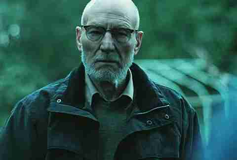 Green Room, Patrick Stewart, Glasses