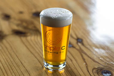 Triple C Brewing Company, pint