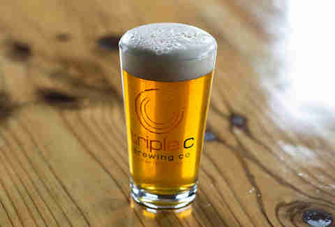 Triple C Brewing Company, pint
