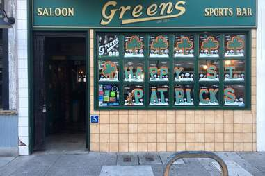 Greens Sports Bar SF