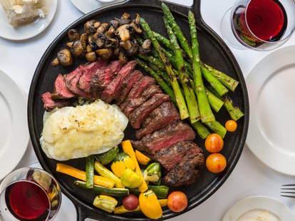 Dickie Brennan's Steakhouse. New Orleans