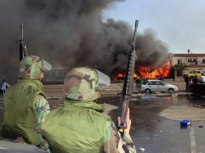 National guard, LA Riots, 1992