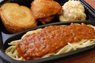 Zippy's, spaghetti