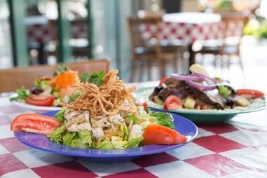 Big City Diner, salad