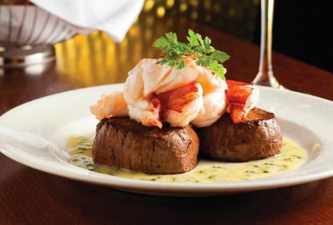 Surf n turf at the Capital Grille