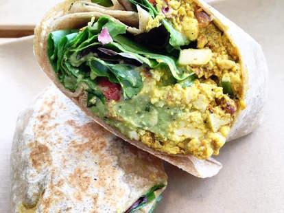 The Breakfast Burrito Choices Cafe miami fl