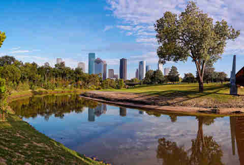 Buffalo Bayou Park Houston