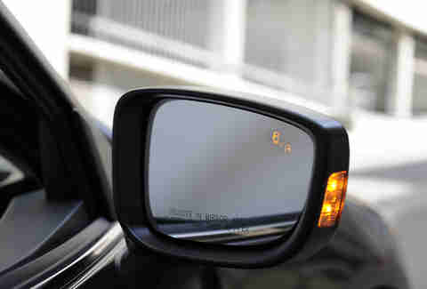 Blind spot monitoring is a huge safety net